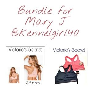 Bundle of VS Bras for Mary j